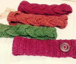 ワーママイベント出品⑥毛糸のヘアーバンド