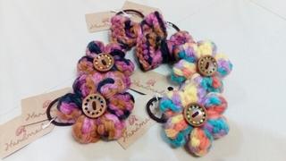 ワーママイベント出品⑦毛糸のヘアゴム